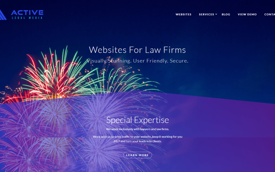 Launch of Active Legal Media – websites for law firms
